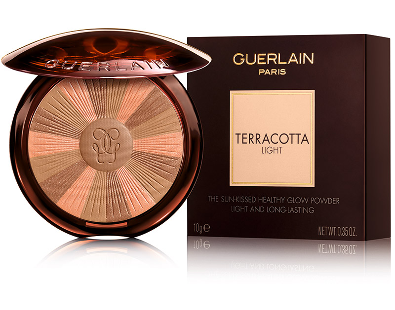 Guerlain пудра Terracotta light
