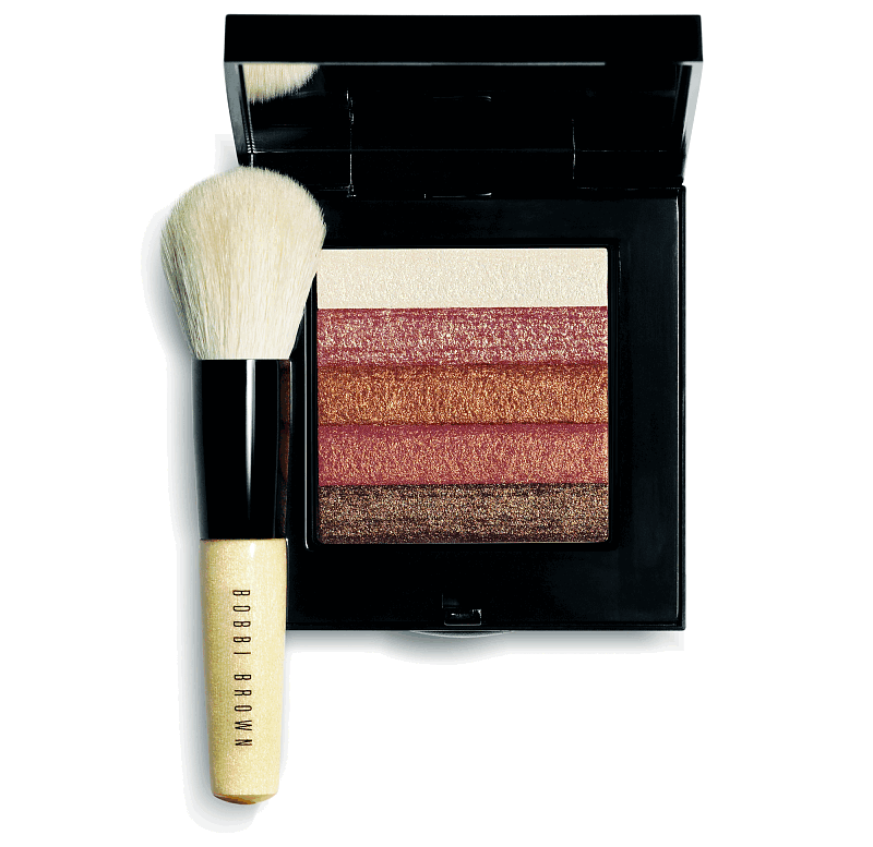 Пудра Bobbi Brown bronze shimmer brick с кисточкой